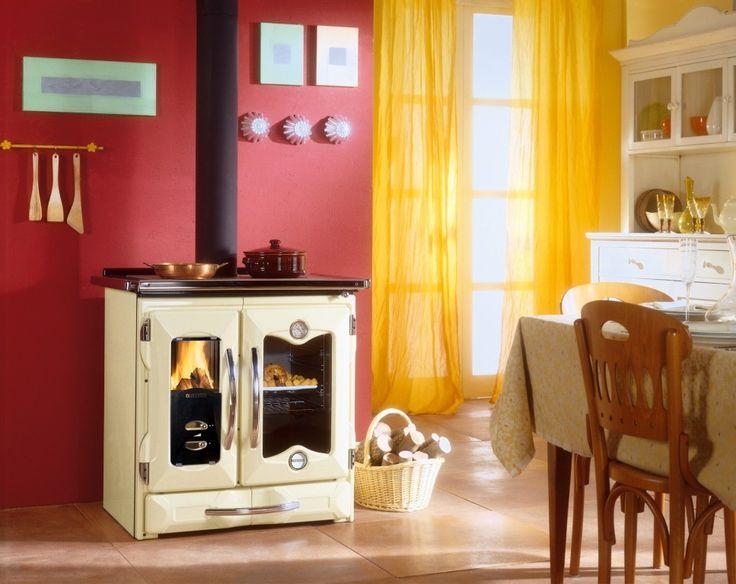 Wood Cook Stove   La Nordica Mamy Cream