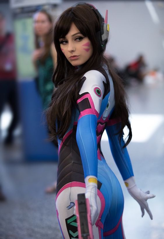 Dva From Overwatch Cosplay,So Cute Dvacosplay Overwatch -9019