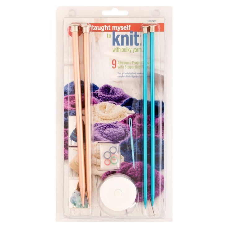 Boye yarn knitting for beginners kit 9 patterns read