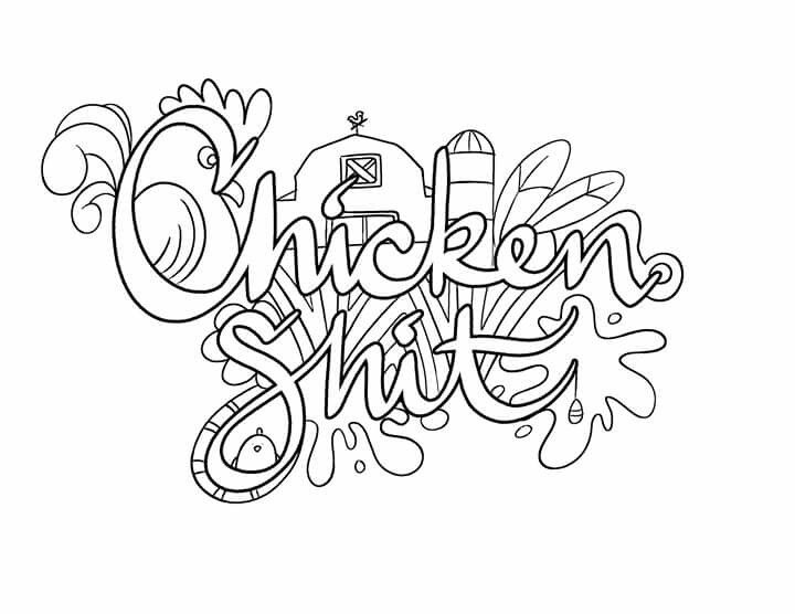 67 best curse word coloring pages images on Pinterest
