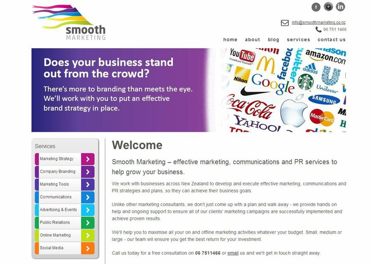 Smooth Marketing – effective marketing, communications and PR services to help grow your business. We work with businesses across New Zealand to develop and execute effective marketing, communications and PR strategies and plans, so they can achieve their business goals.