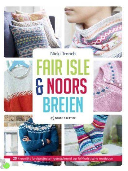 Fair Isle en Noors breien van Nicki Trench - www.wolwolf.be