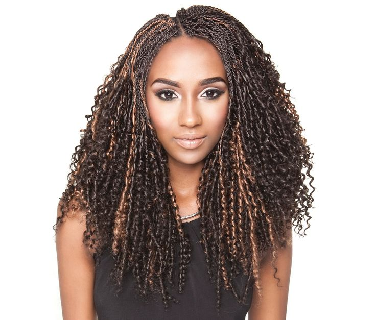 Collection - Senegalese Spiral Twist Bulk Hair for Crochet Braids ...