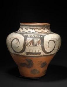 polychrome storage jar, Hopi