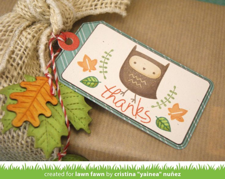 Lawn Fawn Clear Stamp Set - You're A Hoot LF605 - Crafty Inspiration