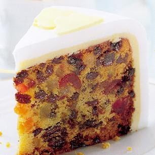 simple christmas fruit cake :)