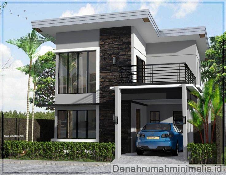 Desain Rumah Minimalis 2 Lantai Modern Philippines House Design 2 Storey House Design Two Story House Design House plan 2 story simple houses