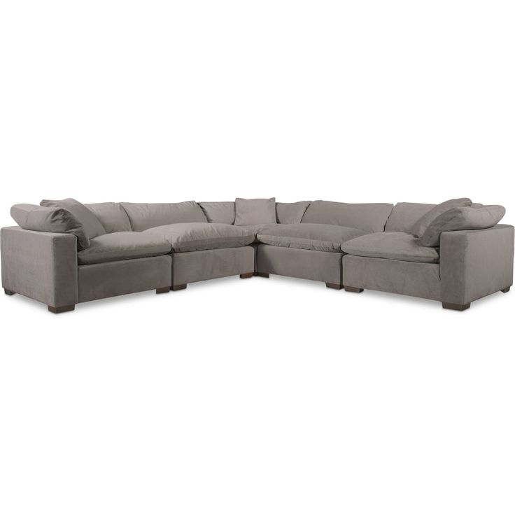 Plush 5-Piece Sectional In 2020