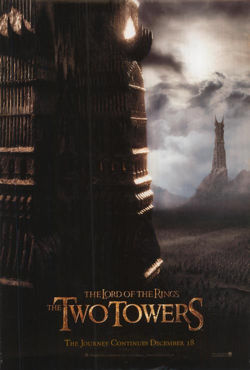 lotr the two towers film poster - Google Search