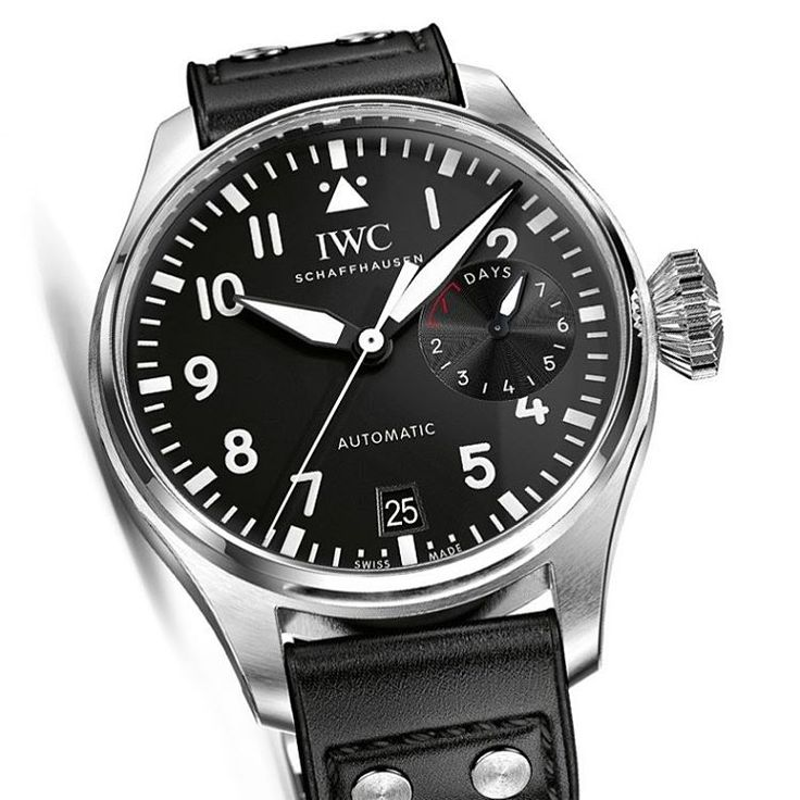 """IWC Big Pilot's Watch & IWC Pilot's Watch Chronograph - by Bilal Khan - see more: http://www.ablogtowatch.com/iwc-big-pilots-watch-iwc-pilots-watch-…"""