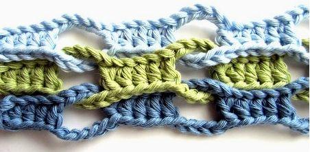 Patrones Crochet: Tutorial Punto Onda Crochet