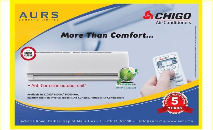 CHIGO Air-Conditioners: More Than Comfort...