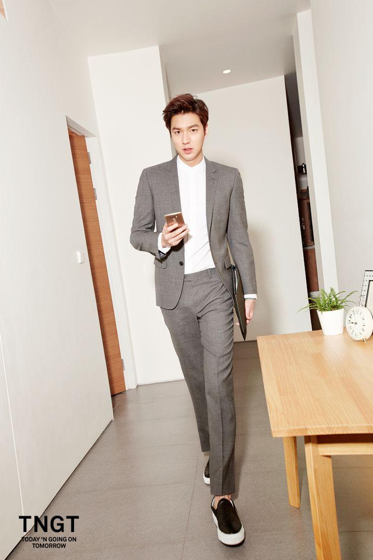 Lee Min Ho: TNGT S/S 2015 Feb '15