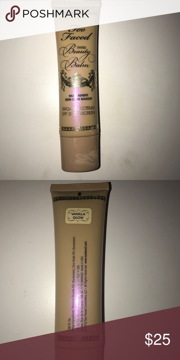 Too Faced Beauty Balm Used once Too Faced Makeup Foundation
