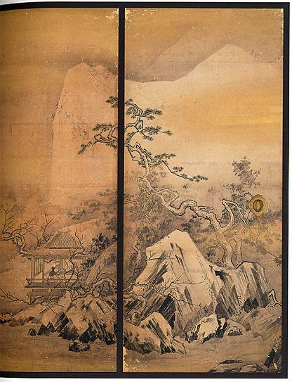 「長谷川等伯」と「日本の家具」