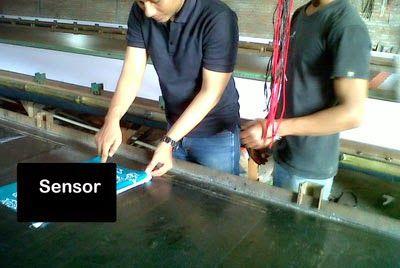 Seragam batik printing solo kalinggo batik warna tosca