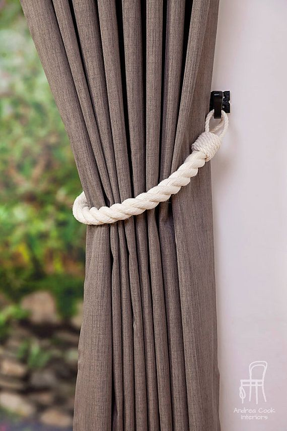Check out this item in my Etsy shop https://www.etsy.com/uk/listing/280650912/chunky-ivory-white-cotton-rope-curtain