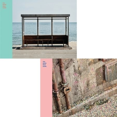 BTS - YOU NEVER WALK ALONE - ( LEFT + RIGHT VERSION/ SET) Release Date 2017.02.14
