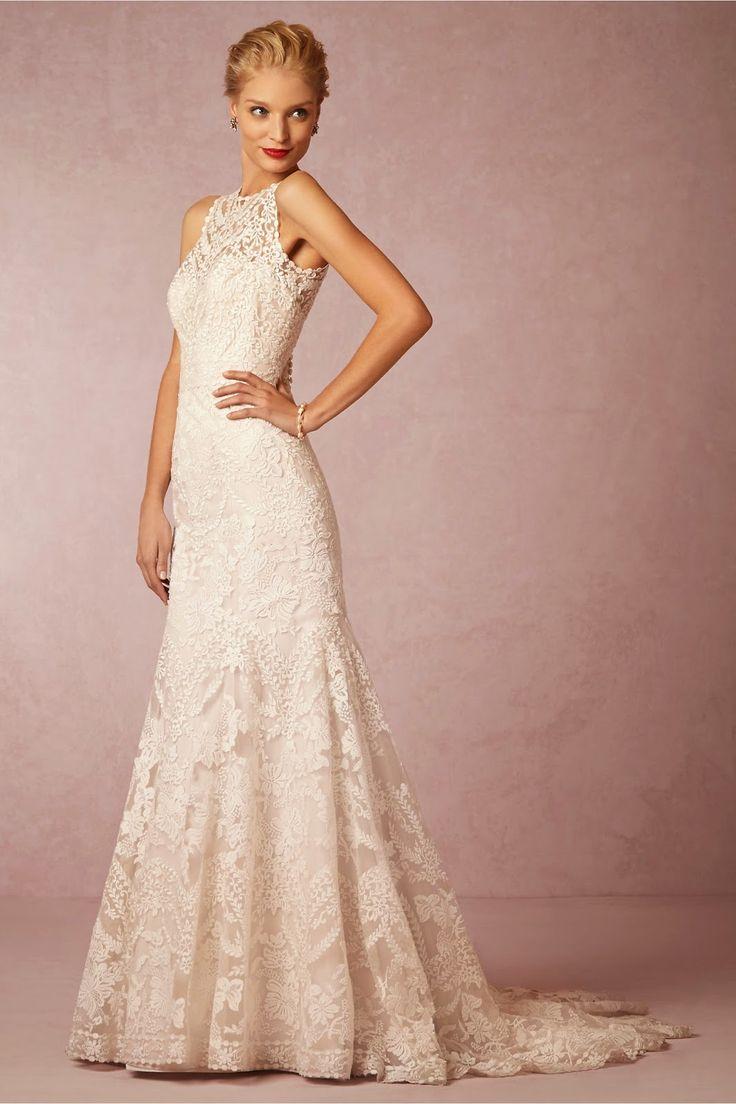 23 best vestidos de casamento images on Pinterest | Marriage, Lace ...