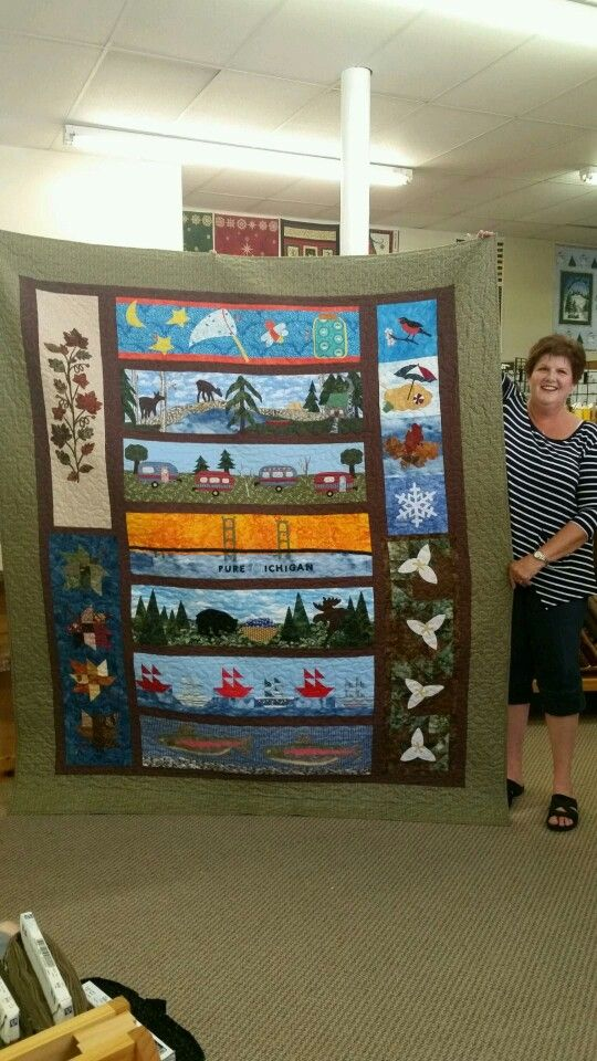 Michigan Row by Row Quilt.