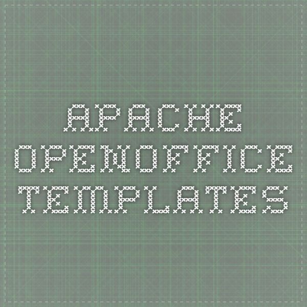 Počet nápadov na tému Openoffice Templates na Pintereste 1000+ - apache open office resume template