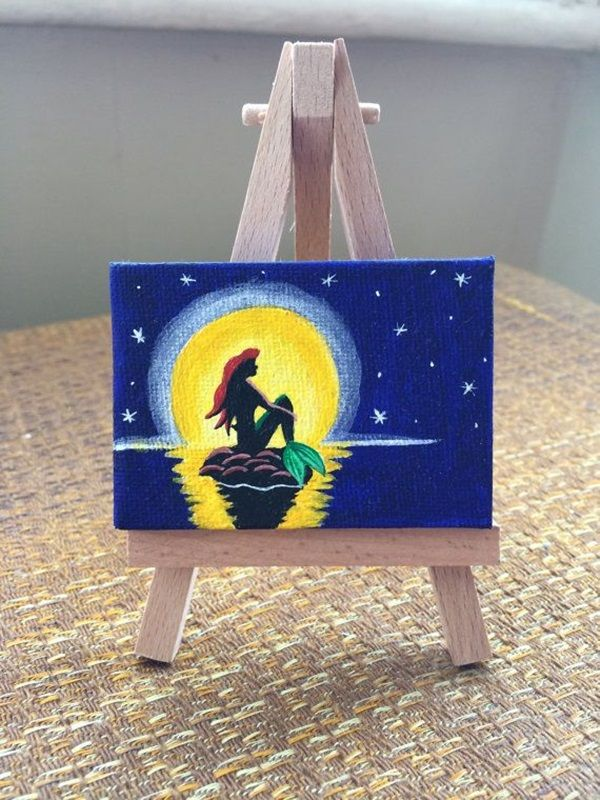 40 Pictures of Cool Disney Painting Ideas 16