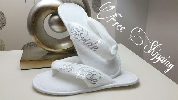 Hey, I found this really awesome Etsy listing at https://www.etsy.com/listing/222604273/free-shipping-brides-wedding-slippers