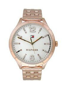 Tommy Hilfiger Mother-Of-Pearl Rose-Gold Bracelet Women's watch #1781548.