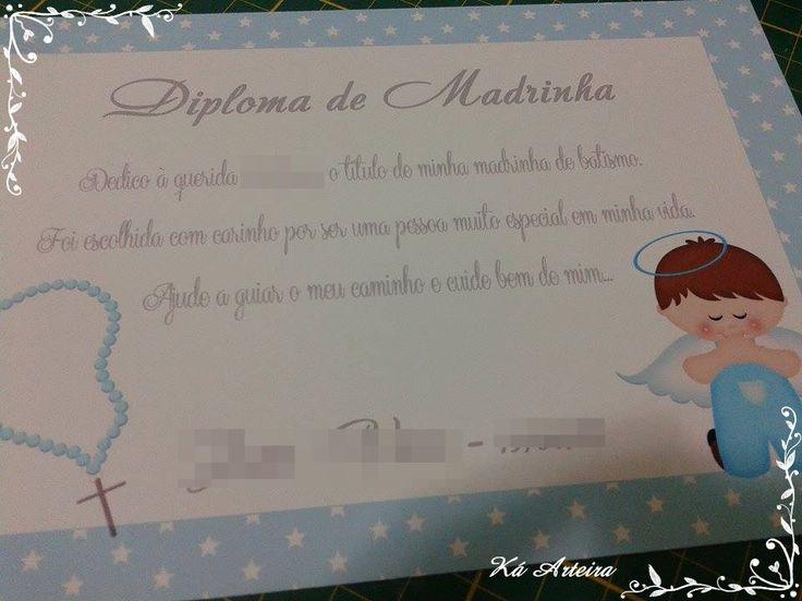 diploma - madrinha/padrinho