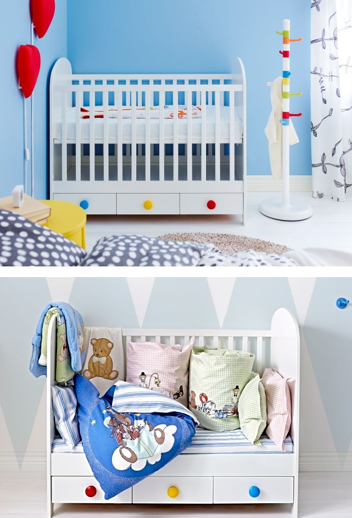 gonatt crib white big kids toddlers and drawer pulls. Black Bedroom Furniture Sets. Home Design Ideas