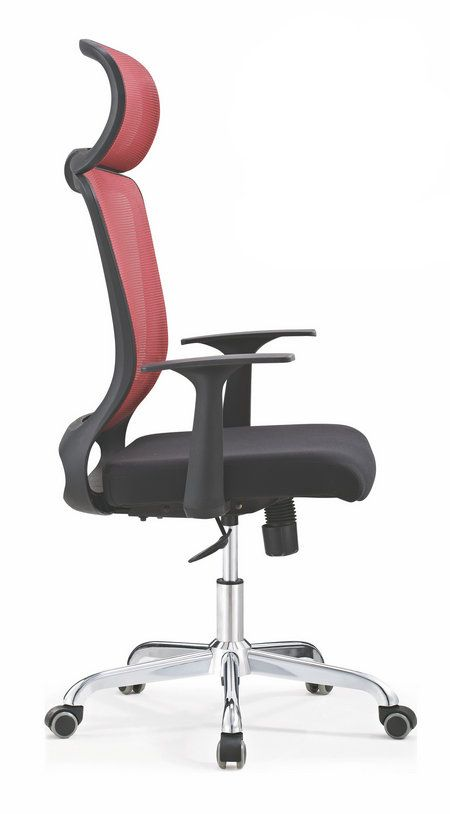 Foshan Manufacturer High Back Manager Chair Rolling Lift Swivel Executive Seating With Headrest China Foshan Staff Office Ch Mesh Office Chair Chair Headrest