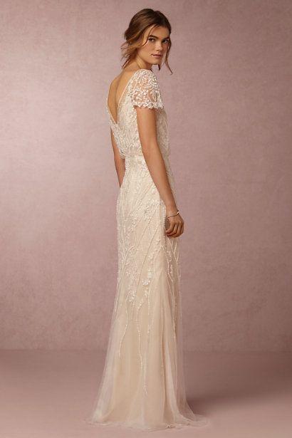 BHLDN Aurora Gown in  Bride Wedding Dresses at BHLDN                                                                                                                                                                                 More