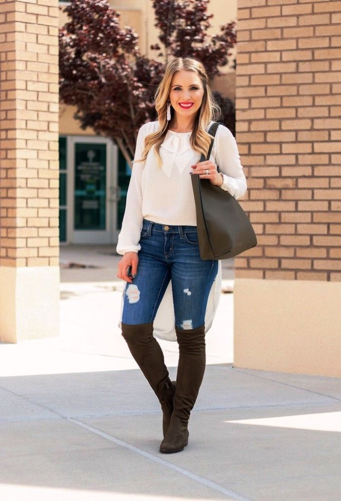 600e99ea2a5 25 Awesome knee high boot outfits Ideas To Try