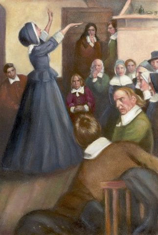 A biography of anne hutchinson