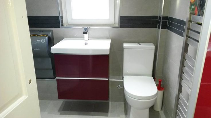 This toilet, sink, tap and unit but with WHITE gloss fronts.