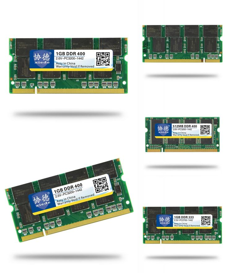[Visit to Buy] XieDe Laptop Memory Ram SO-DIMM DDR1 DDR 400 333 MHz / PC-3200 PC-2700 200 Pins 512 MB 1 GB For Sodimm Notebook Memoria Rams #Advertisement