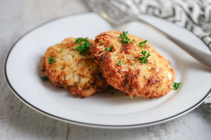 Air fryer crab cakes with images cooking crab cakes food