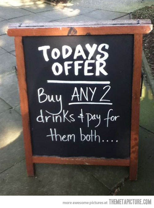 Gotta love a great offer…oh wait…