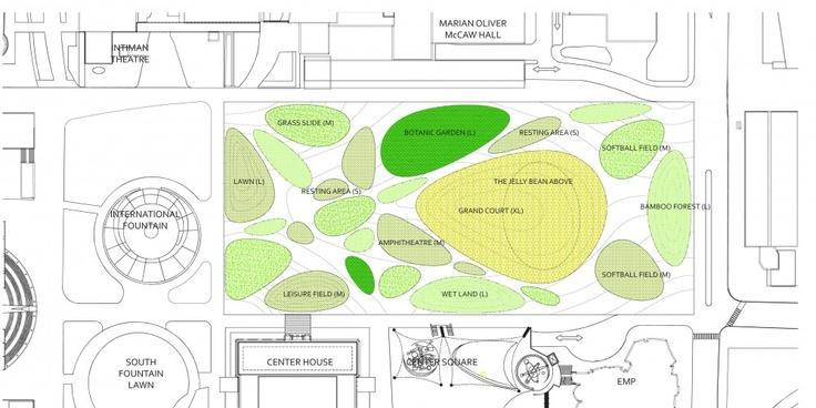 Urban space proposal