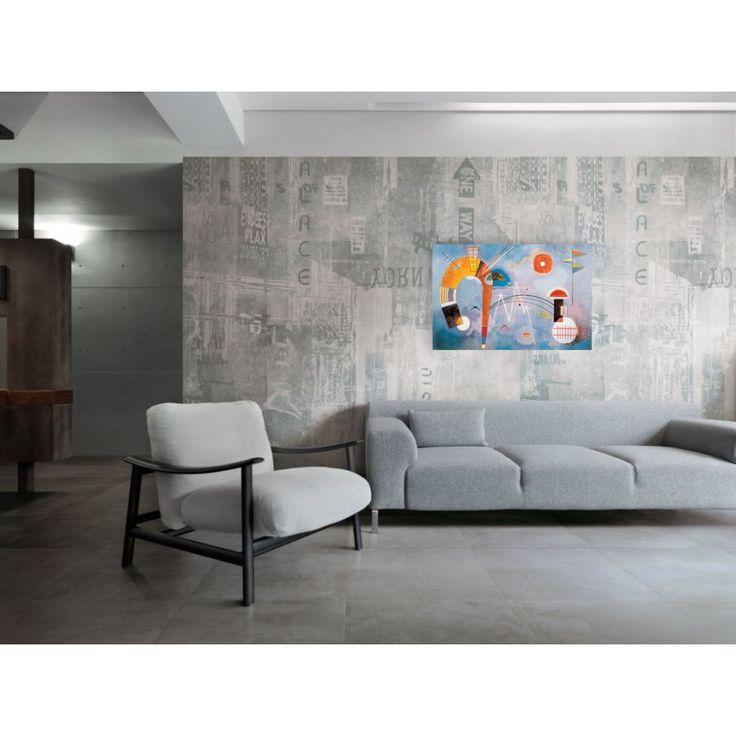 KANDINSKY - Rond et pointu 90x60 cm #artprints #interior #design #art #print #iloveart #followart #artist #fineart #artwit  Scopri Descrizione e Prezzo http://www.artopweb.com/autori/wassily-kandinsky%20/EC21577