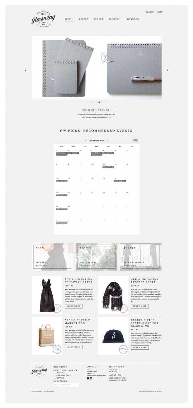 Glasswing is a women and mens clothing and home goods store in Seattle   Washington. 2846 best Webdesign Inspiration images on Pinterest   Design
