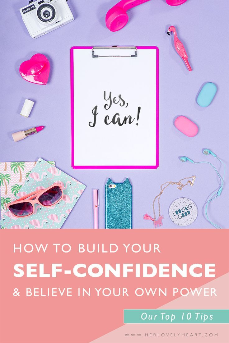 how to build self confidence Building self-confidence just takes a little practice and action see these five ways to build self-confidence to get started.