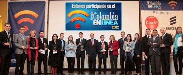 Doce sitios se llevaron el codiciado premio Colombia como reconocimiento a los mejores en la Web nacional.