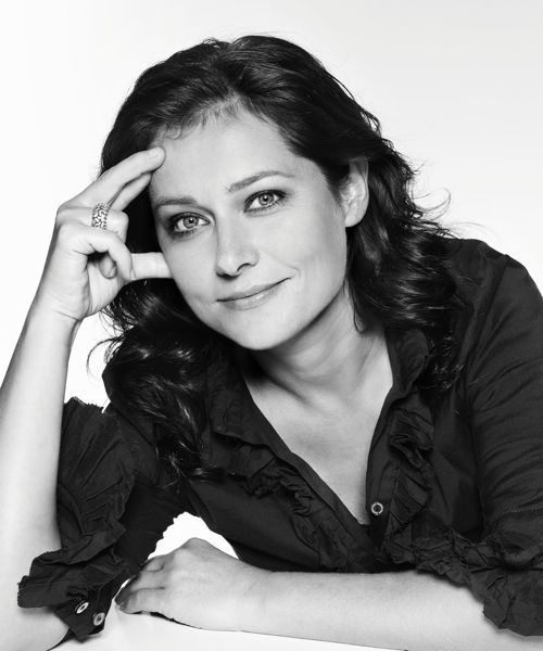Sidse Babett Knudsen (1968) - Danish actress in theatre, TV and film. Photo by Morten Jerichau