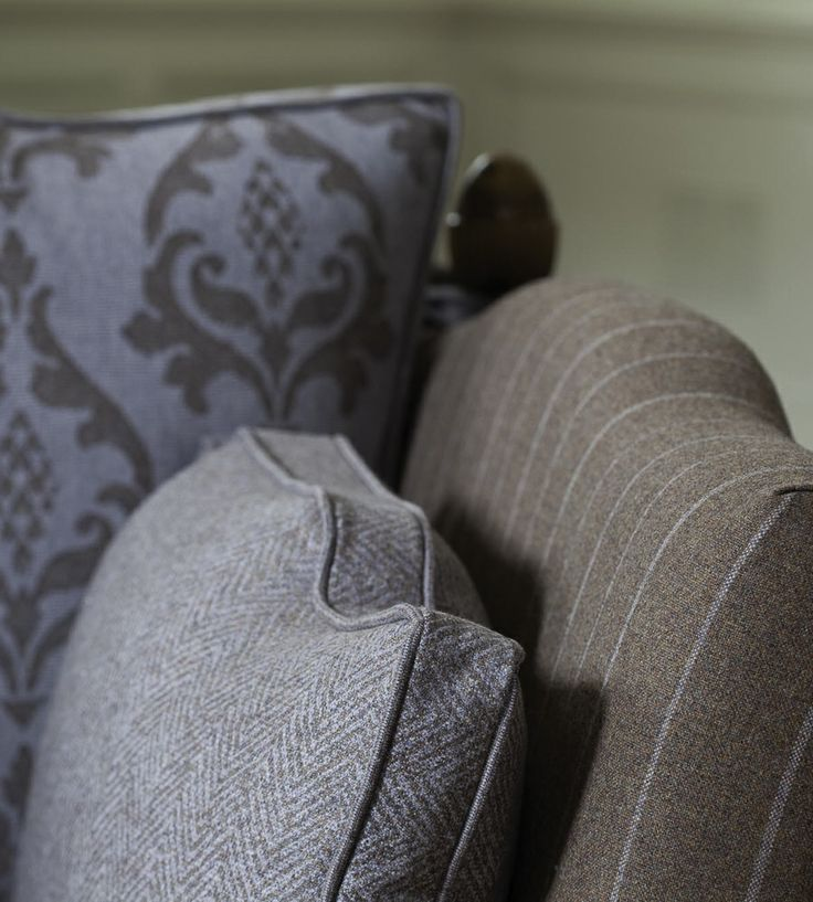 Autumnal Tones, Flint   Traquair Fabric by Johnstons of Elgin   Jane Clayton
