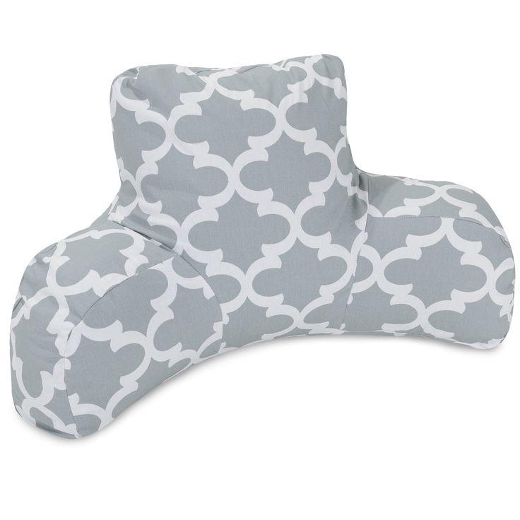 Trellis Cotton Bed Rest Pillow