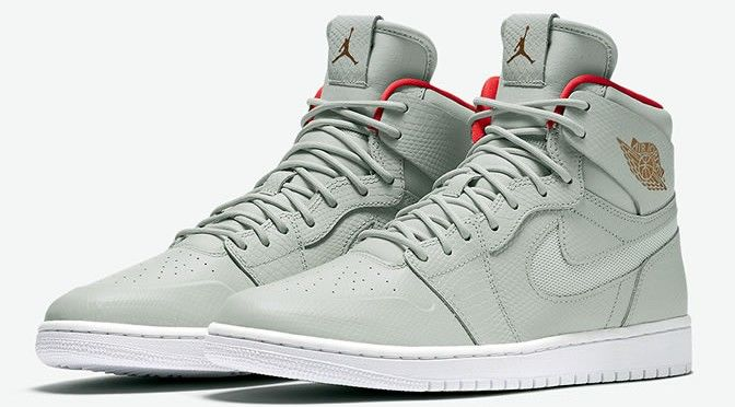 """This AJ1 High Nouveau """"Pure Platinum"""" Is Inspired By The Air Yeezy 2"""