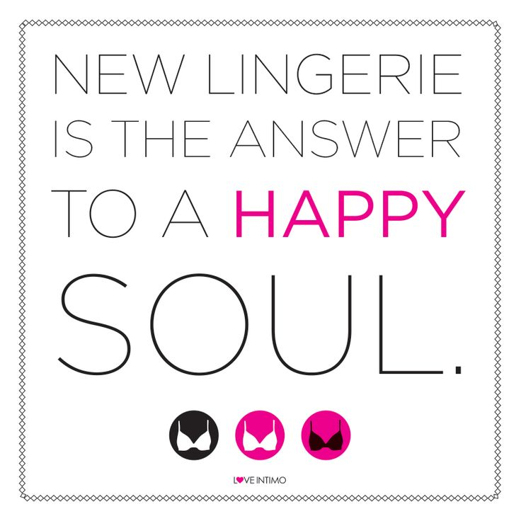 We couldn't agree more! Discover your Feel Good Fit with our fabulous November New Release: https://www.intimo.com.au/shop/category/new-releases  Contact me :)