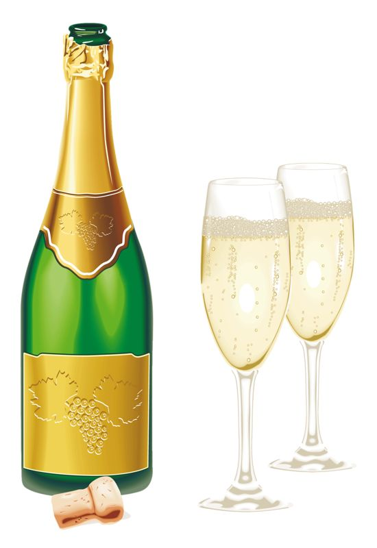 green_gold_new_year_kit_fecnikek 59png cristmas pinterest clip art wine bottle images and champagne
