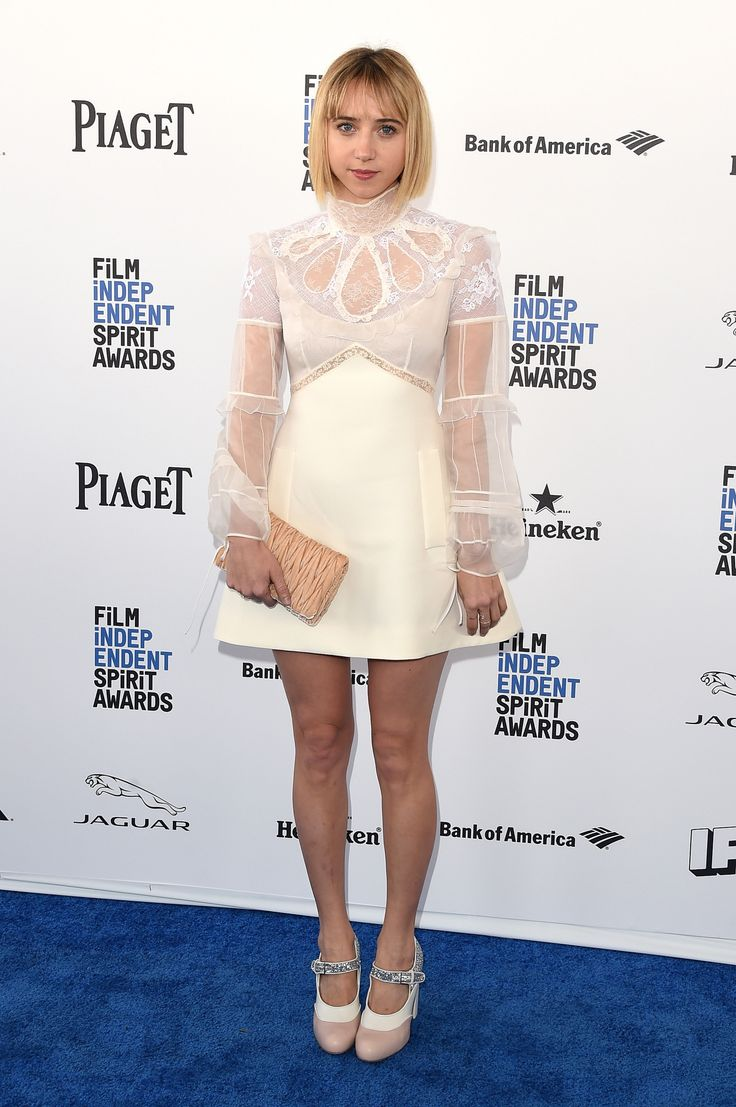 Zoe Kazan aux Film Independent Spirit Awards 2016